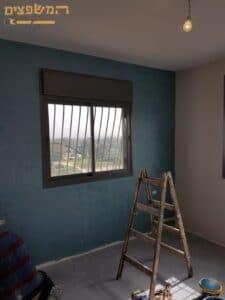 תיקוני צבע ושפכטל לקירות כולל תיקון חורים