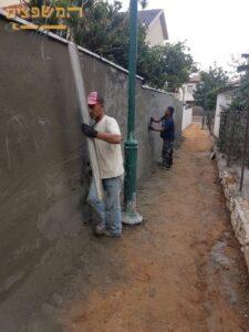תיקון מקצועי בחומה ארוכה. צילום: אלי