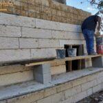 בניית בית פרטי באופן מקצועי כולל חיפוי מסביב. צילום: ערן