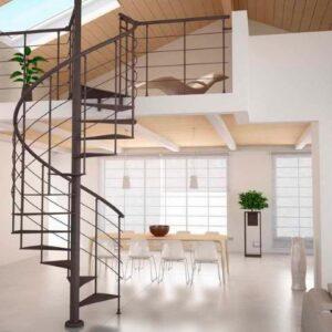 שיפוץ עליית גג שכולל מדרגות וחלונות סקיילייט