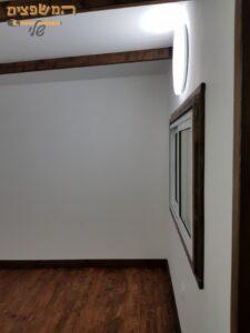בניה קלה יחידת דיור קטנה עם חדרים וסלון כולל חלונות