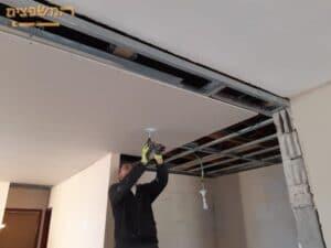 חיפוי גבס לתקרה וקירות בכל הבית לעיצוב מושלם.