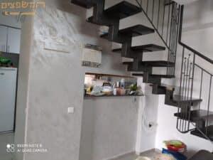 צביעת דירה 100 מר כולל צביעת קיר באפקט ספארי
